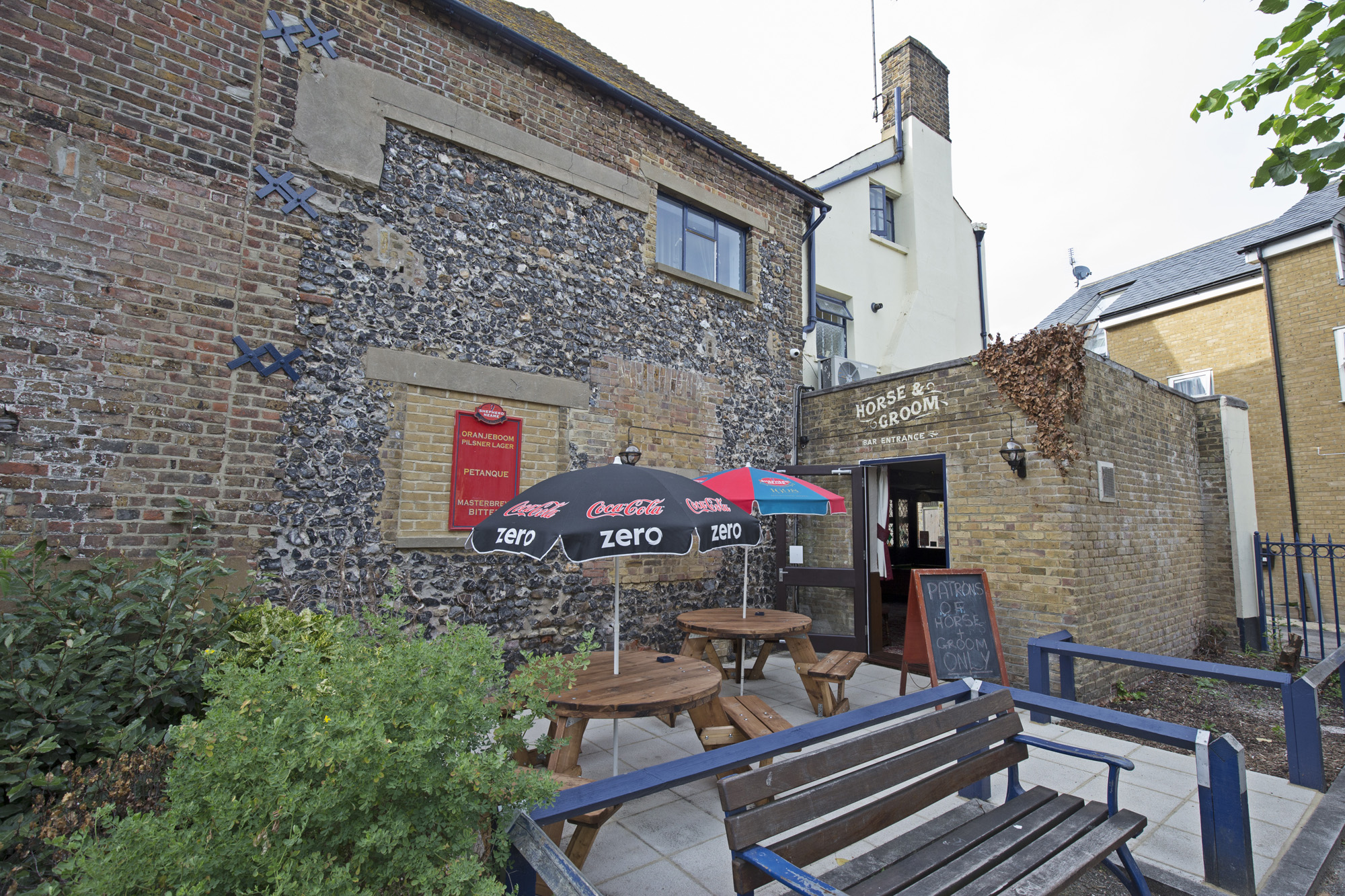 The Horse and Groom Ramsgate Beer Garden