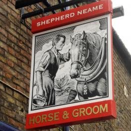 The Horse and Groom Ramsgate Swingsign