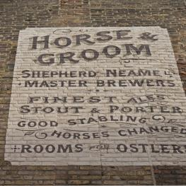 The Horse and Groom Ramsgate Wall Sign